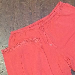 ⭐️ Gap Body pajama bottoms in pretty coral color